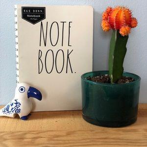 Rae Dunn Spiral Notebook (Journal Diary School)
